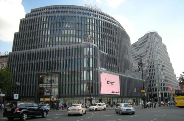 Kurfürstendam, Berlin; a top retail location with major franchises
