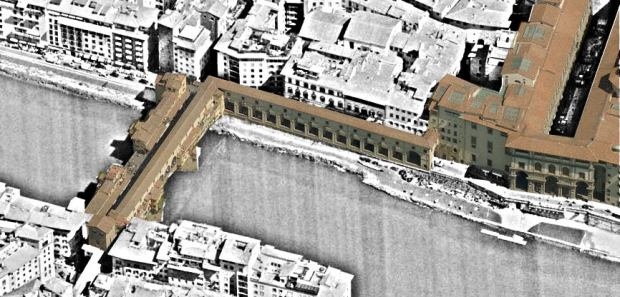 Urban retail as a complement to the Vasari Corridor