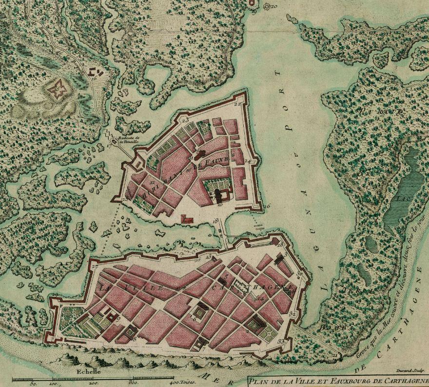 Poliorcetics Cartagena De Indias Metrhispanic - Cartagena de indias map
