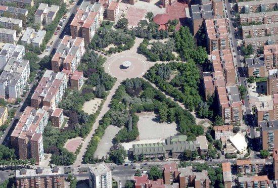 An aerial view of Ciudad de los Angeles (source: planea madrid)