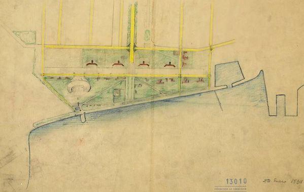 Le Corbusier's project