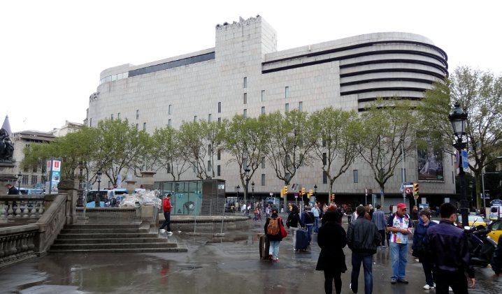 Bogot metrhispanic - El corte ingles plaza cataluna barcelona ...