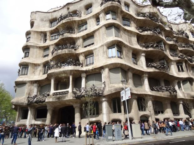Gaudí on Paseo de Gracia, on a block with a 5,5 FAR