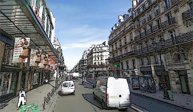 The La Samaritaine area. A retail hub