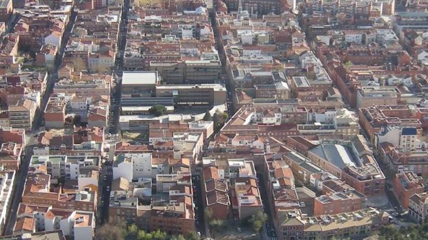 Many things to count (here,  the Tetuan area in Madrid)