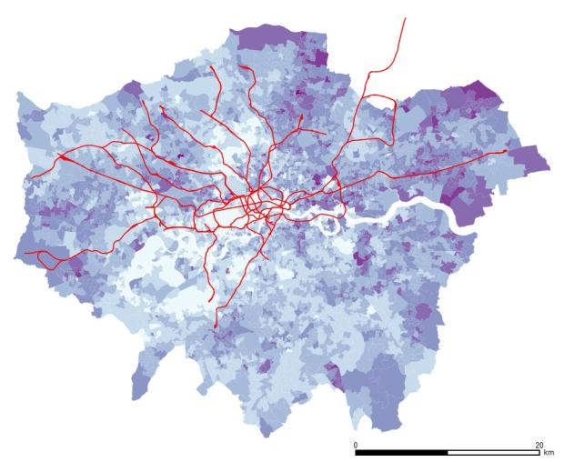 No qualification persons in London. The East, and especially north-east, show the higher figures.