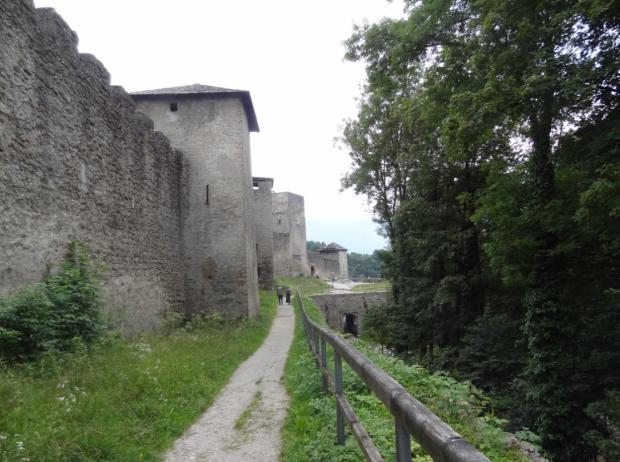Medieval walls in Mönschberg