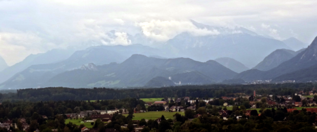 The Alps as seen looking south from Mönschberg