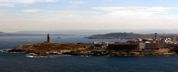 Coruña-peninsula