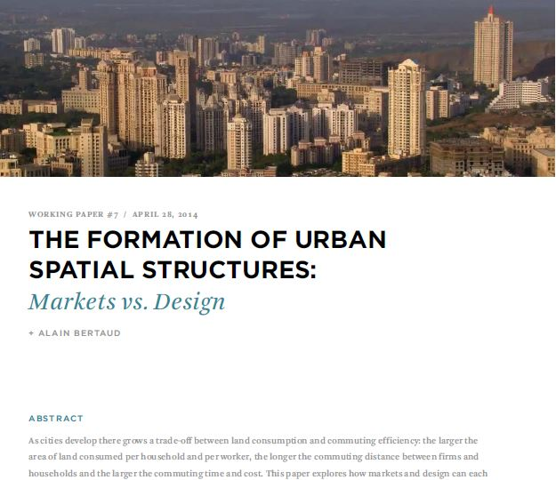Biblio 114 the formation of urban spatial structures markets vs design metrhispanic Urban design vs urban planning